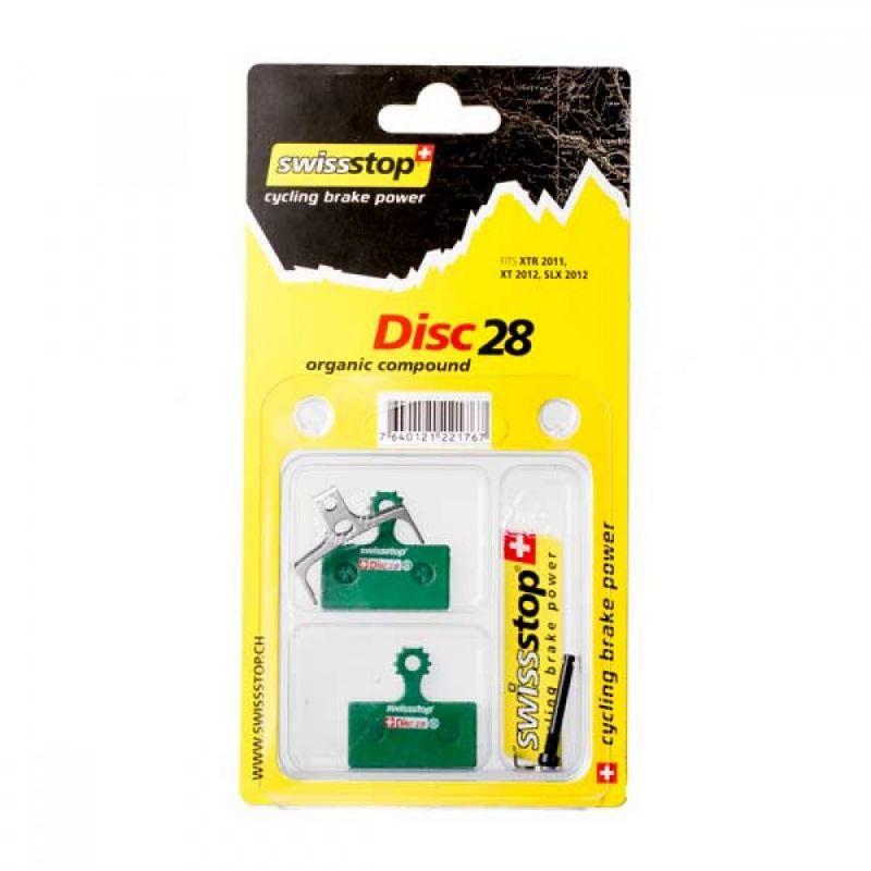 Pasticche SwissStop SHIMANO disc28 XTR