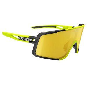 Occhiali Salice 022 RW Nero Lime Due Lenti Intercambiabili
