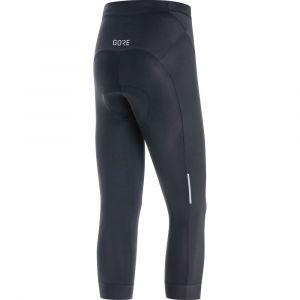 GORE Pantaloni 3/4 Donna Ciclismo C3 Gore  Tre Quarti Tights Nero