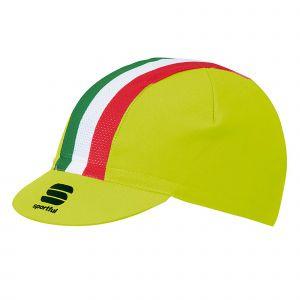 Cappellino con visiera Italia Cap Giallo Fluo Sportful