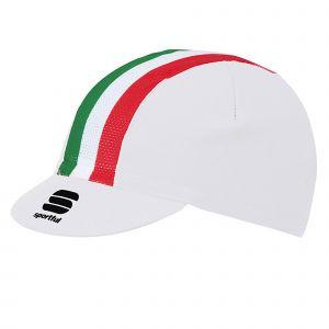 Cappellino con visiera Italia Cap Bianco Sportful
