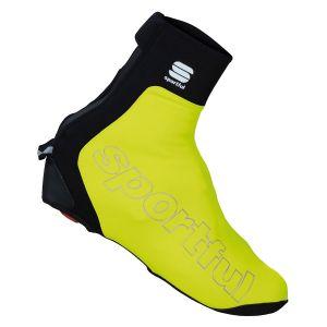Copriscarpe Sportful Roubaix Thermo MTB Giallo Fluo e Nero