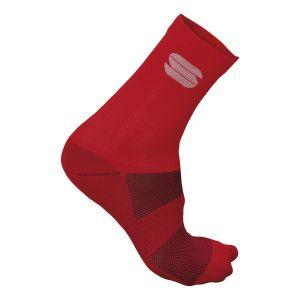Calze Sportful Ride 15 Socks Rosso Red (15 cm)