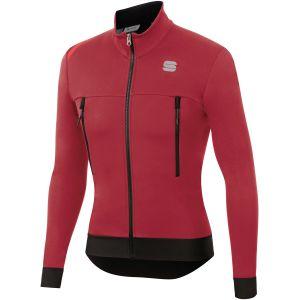 Giacchetto Sportful Fiandre Warm Jacket Rosso Scuro Super Offerta