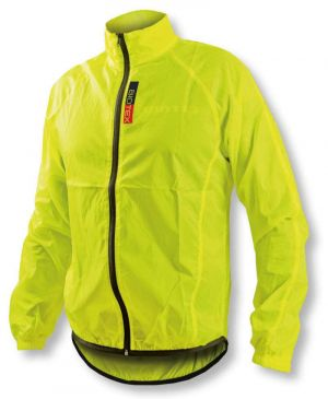 Antivento Biotex Wind Jacket X-Light Black Giallo Fluo