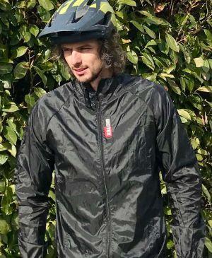 Antivento Biotex Wind Jacket X-Light Black Nero