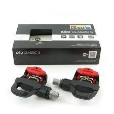Pedali Look Kéo Classic 3 nero rosso