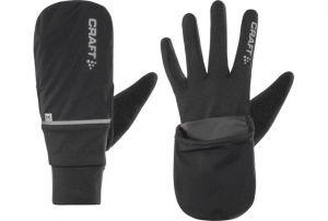 CRAFT Guanti Antivento Hybrid Weather Glove Black