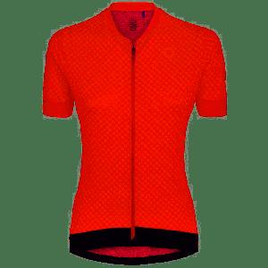 Maglia Donna Ciclismo Briko Ultralight Manica Corta Rosso