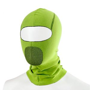 Sottocasco Passamontagna  Biotex Verde Taglia Unica