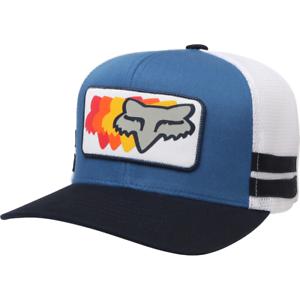 Cappellino Trucker 74 Wins Fox Azzurro