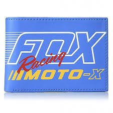 Portafogli Fox Flection PU Wallet Blu