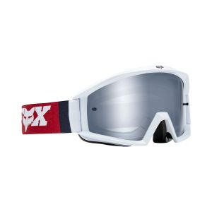 Maschera FOX Main Goggle Cota Bianco Rosso