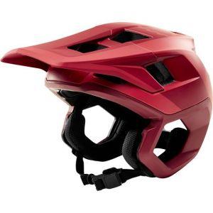 Casco Fox Dropframe Helmet Rio Red Rosso 2019 NUOVO