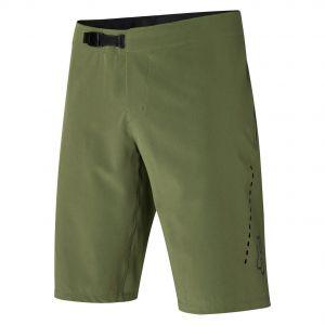Pantaloncini Fox Flexair Lite Verde Oliva Mtb Enduro