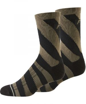 "Calze Fox Creo 8"" Trail Cushion Sock Camo Dirt"