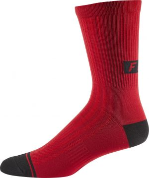 "Calze Fox Creo 8"" Trail Sock Rosso"