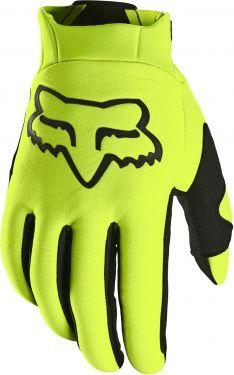 Fox Legion Thermo Glove Guanti da Bici  Giallo Fluo 2021 SUPER OFFERTA