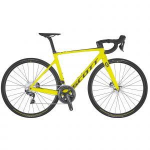 Bici da Corsa SCOTT ADDICT RC 30 Disc Giallo Yellow