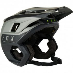 Casco Fox Dropframe Pro Helmet Grigio Nero MIPS 2021 NUOVO