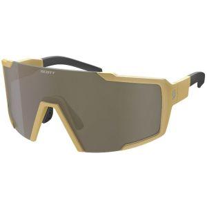Occhiali Ciclismo Scott Shield Gold Lenti Bronz Chrome