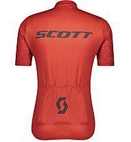 Scott Shirt Maglia Ciclismo Maniche Corte RC Team 10 Rosso 2021