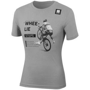 T-Shirt Sportful  Maglia Maniche Corte Sagan Whee Lie Tee
