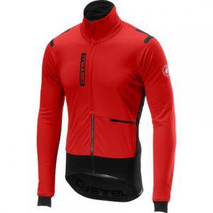 Castelli Giacchetto Alpha RoS Jacket Anti Pioggia e Vento Rosso Uomo