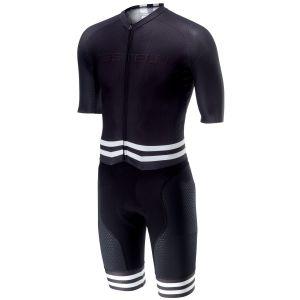 Body Triathlon Bici Castelli Sanremo 4.0 S-SUIT Black Nero