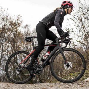 Salopette Lunga Ciclismo Invernale Termica Castelli TUTTO NANO BIBTIGHT  Donna