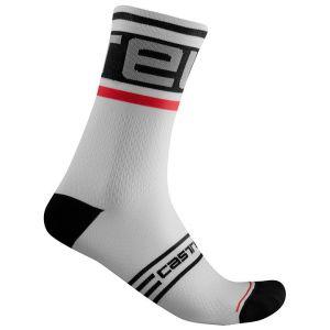 Calze Estive PROLOGO 15 Sock di Castelli Bianco MIGLIOR PREZZO