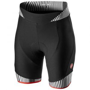 Pantaloncino Ciclismo Donna ILLUSIONE Short Castelli Nero e Bianco 2021
