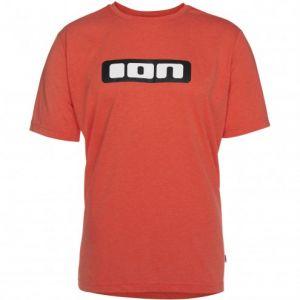 T Shirt Ion Tee SS Logo Dr Fiesta Red Melange