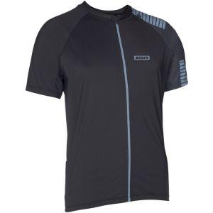 Ion  Tee Full Zip  SS Quest maglia ciclista  Zip  Intera Nera