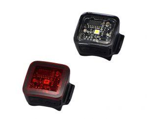 SPECIALIZED Fanali Flash COMBO Anteriore e Posteriore Nero USB