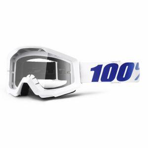 Maschera 100% Strata Goggle Equinox Clear Lens