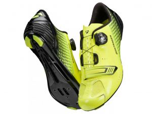 Scarpe Bontrager Specter Road Shoe Giallo Fluo  ULTIMO NUMERO DISPONIBILE 43 Super Offerta !!