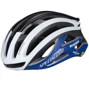 Casco Specialized Prevail II VENT S-Works MIPS ANGI Bianco Blu Limited Edition Team Replica Quick Step 2021