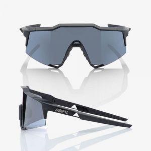 Occhiali Ciclismo 100% SPEEDCRAFT Soft Tact Black Smoke Lens