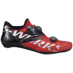 Specialized Scarpe bici da corsa S-Works Ares 2021 NUOVE Rosso e nero