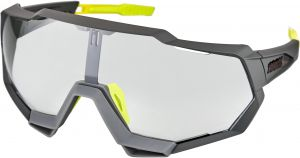 100% Occhiali sportivi MTB Speedtrap Soft Tact Cool Gray - Photochromic Lens Lenti Fotocromatiche
