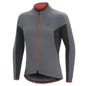 Maglia Maniche Lunghe Specialized Therminal SL Expert LS Jersey Grigia