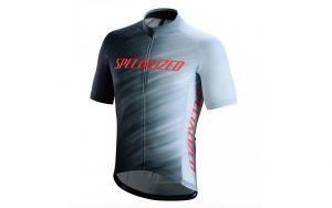 Maglia Ciclismo Specialized Rbx Comp Logo Faze Jersey Maniche Corte GRIGIO NERO