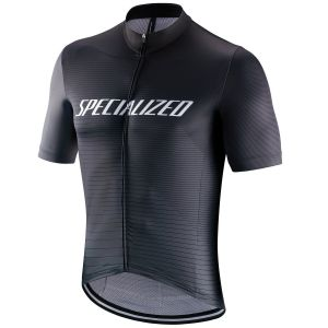 Maglia Ciclismo Specialized RBX Comp Logo Team - Nero- Grigio