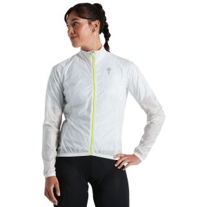 Giacchetto Antivento Antipioggia Specialized Deflect Comp Jacket Bianco DONNA