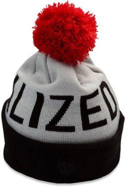 Specialized Cappellino Berretto Inverno New Era Pom Pom Grigio Rosso Nero Taglia Unica