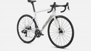 Bici Specialized Tarmac SL7 Comp Rival ETap AXS Gloss Metallic White Silver / Smoke