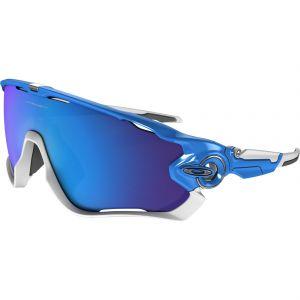 Occhiali Oakley Jawbreaker Sky Lens Sapphire Iridium Azzurri e Bianchi