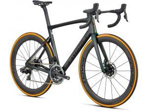 Bici S-Works Tarmac SL7 Disc 2021 Carbonio/Perlato Verde Argento