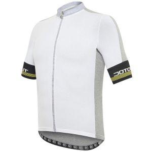 Maglia Ciclismo Bici  DotOut Fusion Jersey  Bianco Grigio